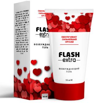 Возбуждающий гель Flash Extra (Флэш Экстра)