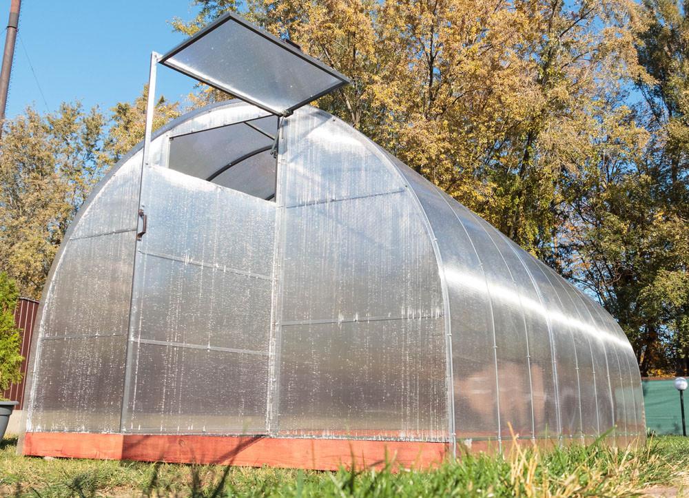 Арочная Теплица Сверхпрочная Основа Nk Plast (300х400х200 см) Сотовый Поликарбонат 4 мм