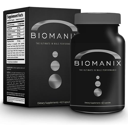 Капсулы для потенции Biomanix (Биоманикс)