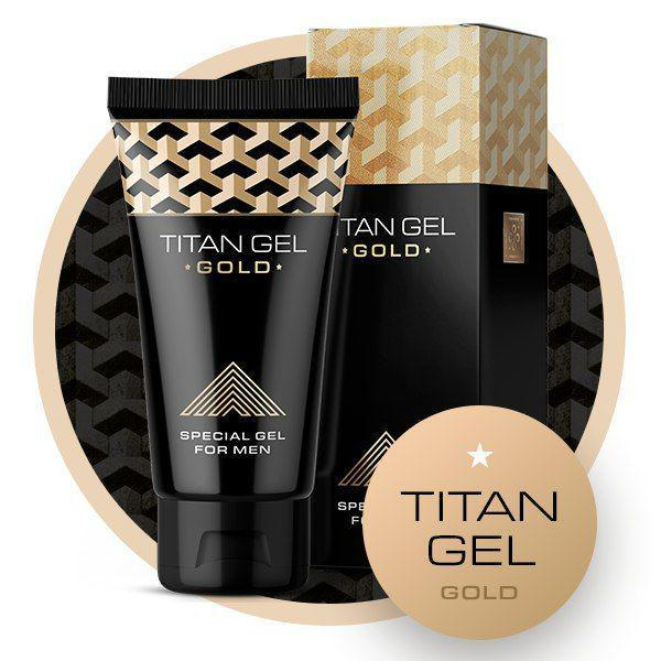 Titan Gel Gold (Титан Гель Голд) для увеличения члена