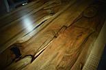 Большой стол в лофт loft стиле массив ореха, фото 5