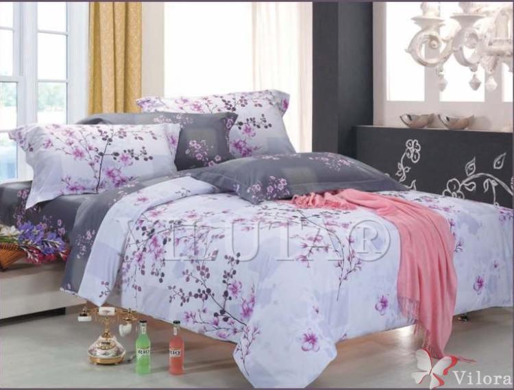 Полуторное постельное белье Вилюта 9813