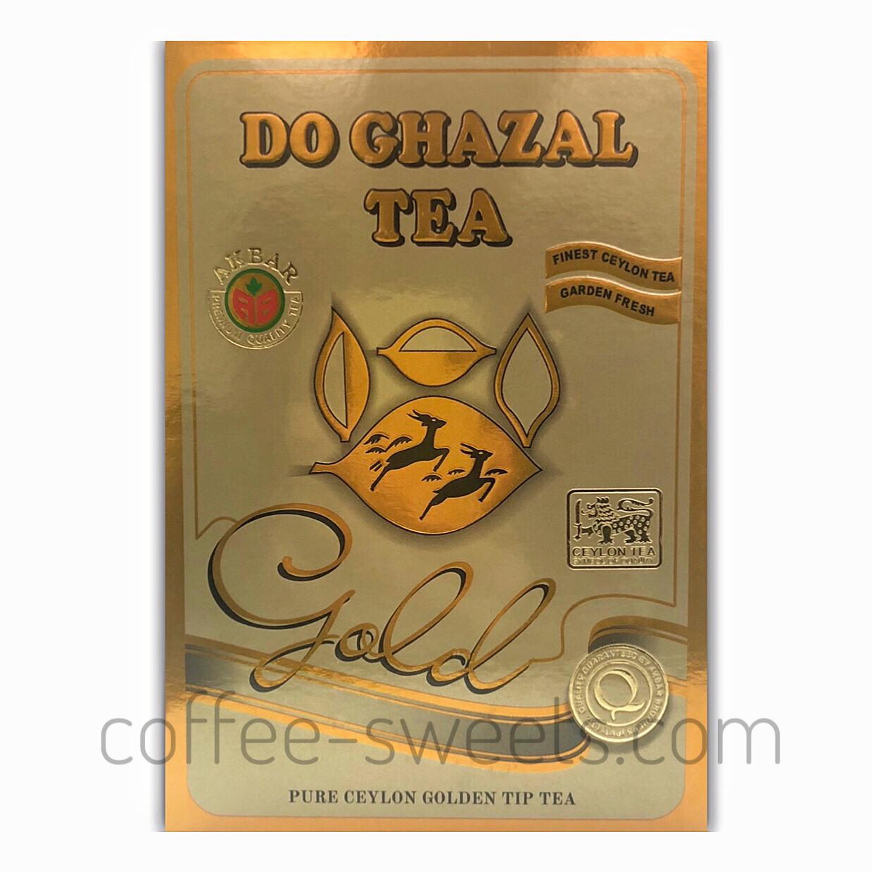 Чай черный цейлонский Do Ghazal Tea Gold (типсы) 500g