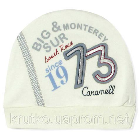 Шапка для новорожденного мальчика Caramell Caramell, фото 2
