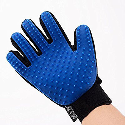 Перчатка Pet Brush Glove для вычесывания животных