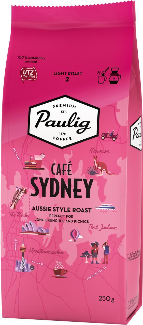 Молотый кофе Paulig Sydney 250 гр.