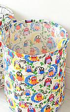 Корзина для игрушек, белья, хранения Птицы Berni, фото 2