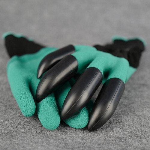 Садовая перчатка Garden Genie Gloves с когтями