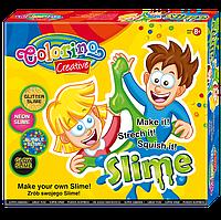 Игровой набор для создания слаймов 6 цветов, глиттер, Colorino
