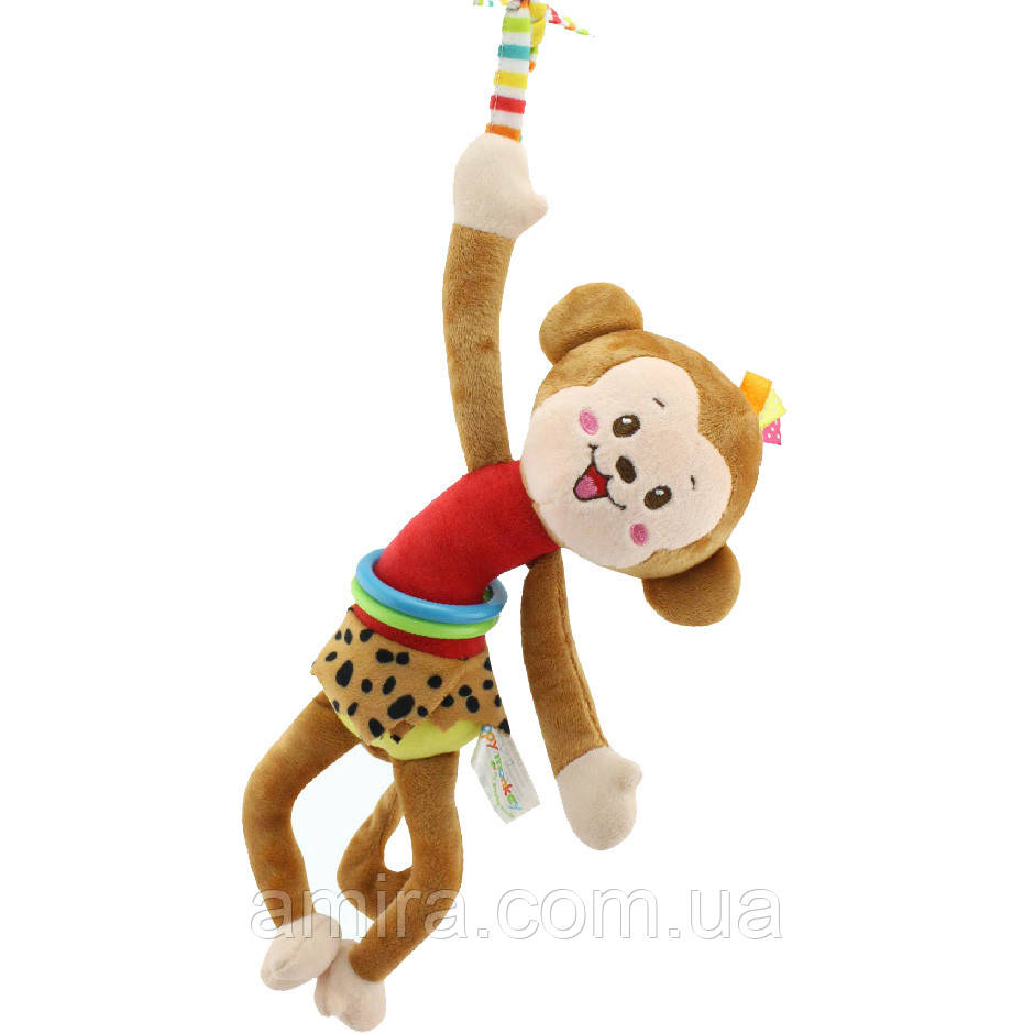 Мягкая подвеска Мартышка Happy Monkey