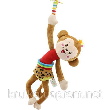Мягкая подвеска Мартышка Happy Monkey, фото 2