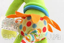 Мягкая подвеска Лягушка Happy Monkey, фото 2
