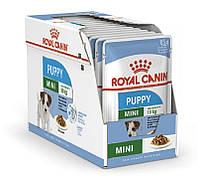 Royal Canin Mini Puppy (Роял Канин Мини Паппи) - влажный корм для щенков мелких пород 85г*12шт