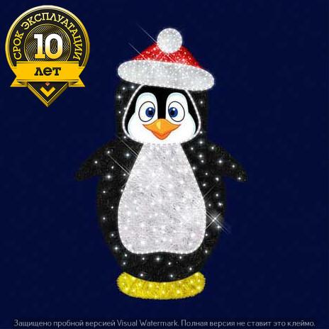 """3D светодиодный пингвин """"Флипп"""""""
