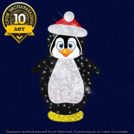 """3D светодиодный пингвин """"Флипп"""", фото 2"""