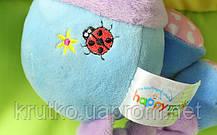 Мягкая музыкальная подвеска Слон Happy Monkey, фото 3