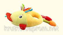 Мягкая музыкальная подвеска Курочка Happy Monkey, фото 2