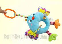 Мягкая музыкальная подвеска Птичка Happy Monkey, фото 2