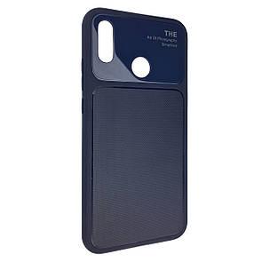 Чехол-накладка DK-Case силикон стекло Totu Arte для Huawei P20 Lite (blue)