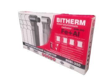 Радіатор Біметалічний Bitherm Uno 350х80