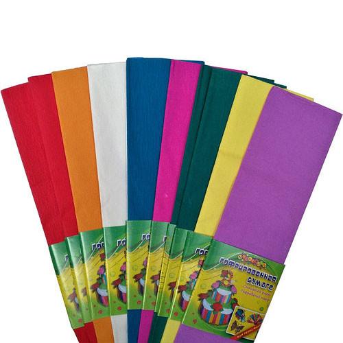Гофрированная бумага Kidis 7811 50*200 см 20г/м2 набор 10 ш 8 цветов