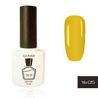 Гель-лак MB Ye-05 горчичный желтый Yellow Collection, эмаль 8 мл