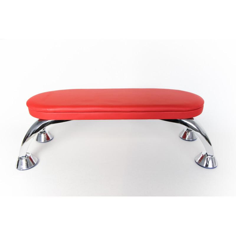 Красная маникюрная подставка для рук