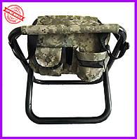 Стул раскладной с сумкой NeRest NR-25 S камуфляж, фото 1