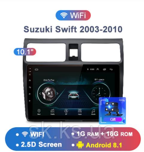 Junsun 4G Android магнитола для  Suzuki Swift 2003 2004 2005 2006 2007 2008 2009 2010  wifi