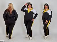 Легкий спортивный костюм супер батал двунитка 56-58 58-60 60-62