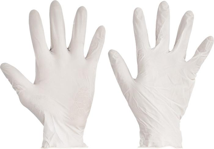 Перчатки одноразовые LOON латекс нестерильные химически стойкие припудренные (100 шт/50 пар)