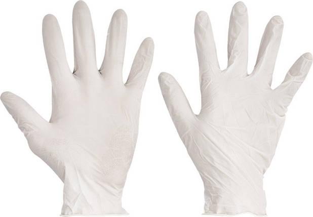 Перчатки одноразовые LOON латекс нестерильные химически стойкие припудренные (100 шт/50 пар), фото 2