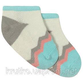 Детские антискользящие носки Зигзаг Berni, фото 2