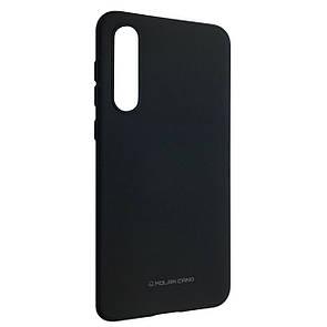Чехол-накладка Silicone Hana Molan Cano для Xiaomi Mi 9 SE (black)