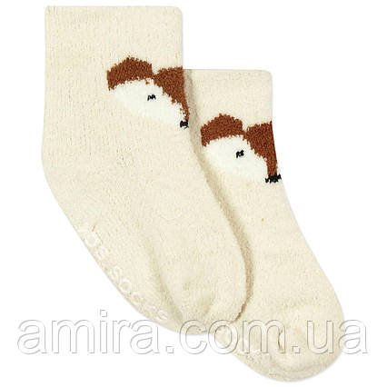 Детские антискользящие носки с начесом Лис Berni, фото 2