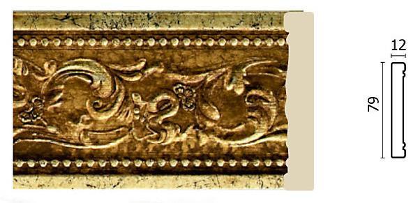 Молдинг для стен Арт-Багет 150-552, интерьерный декор.