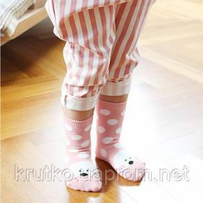 Детские антискользящие носки Горошек Berni, фото 2