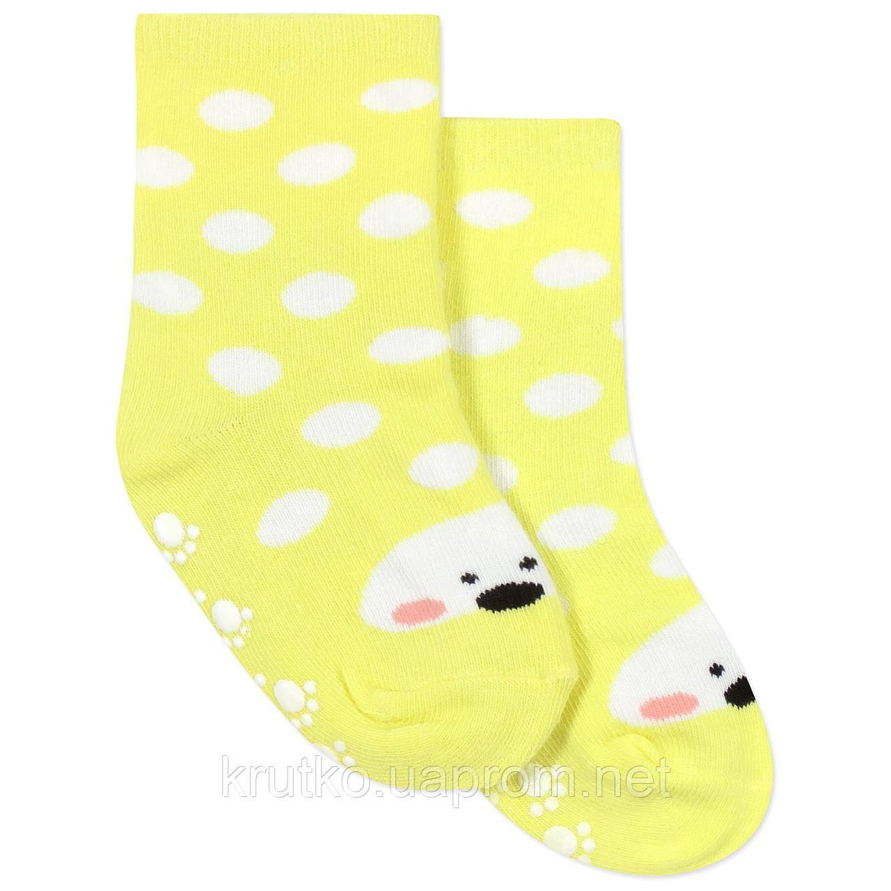 Детские антискользящие носки Горошек Berni