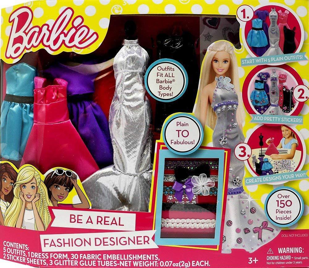 Barbie Творческий набор Барби Стань модельером Tara Toys Barbie Be a Fashion Designer Doll Dress