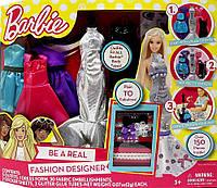 Barbie Творческий набор Барби Стань модельером Tara Toys Barbie Be a Fashion Designer Doll Dress , фото 1