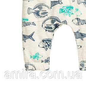 Штаны для мальчика Рыбки Little Maven, фото 2