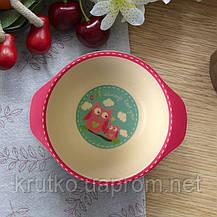 Набор посуды из бамбукового волокна Сова Tiny Footprint, фото 2