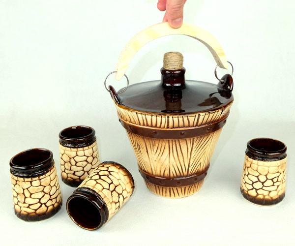 Ведро - подарочный набор для спиртного