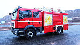 Пожарная машина Pumper KRB-FF04