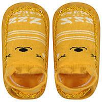 Детские носки с антискользящей подошвой  Медведь Berni