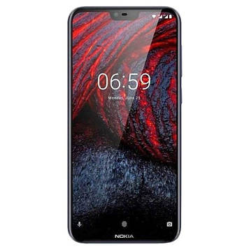Смартфон Nokia 6.1 Plus 4/64GB Dual Sim Blue