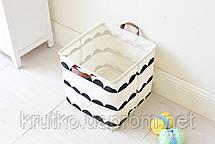 Корзина для игрушек, белья, хранения Холмы Berni, фото 3