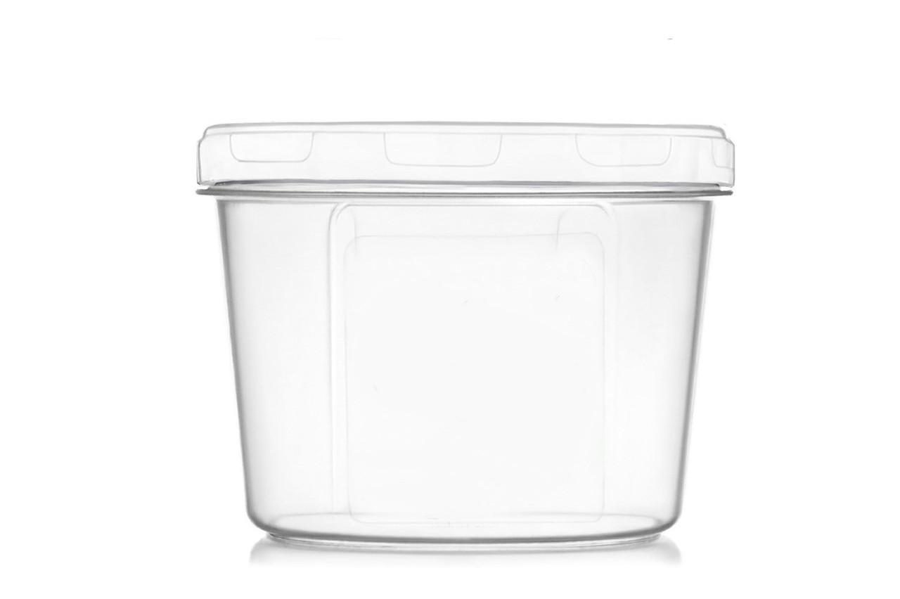 Ємність для дрібних сипучих та рідких продуктів 200 мл. біла (арт. 105б)
