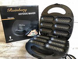 Электрогриль для хот догов Rainberg RB 6301 Hot Dog Maker 1800W