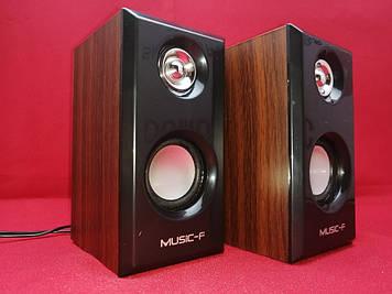 Компьютерные колонки music-f модель D-092